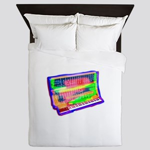 Modular analog electronic synthesizer Queen Duvet