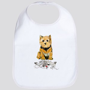 I love my Norwich Terrier Bib