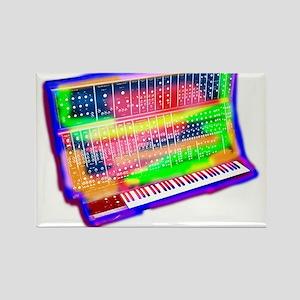 Modular analog electronic synthesizer Moog Magnets