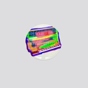 Modular analog electronic synthesizer Mini Button