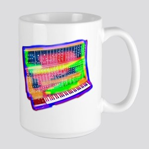 Modular analog electronic synthesizer Moog t- Mugs