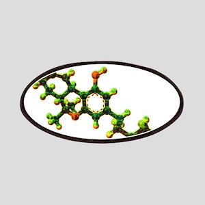 THC Molecule Patch