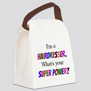 Hairdresser Super Power Canvas Lunch Bag
