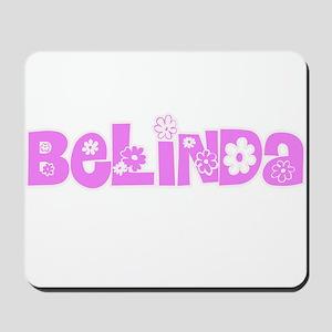 Belinda Flower Design Mousepad
