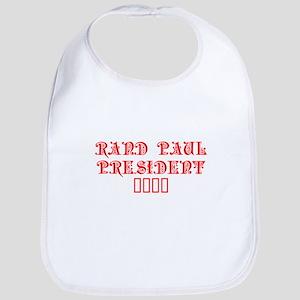 Rand Paul President 2016-Pre red 7 Bib
