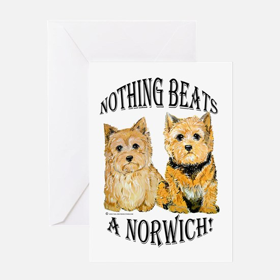 Nothing Beats a Norwich Terri Greeting Card