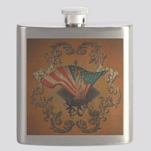 The Statue of Liberty Flask
