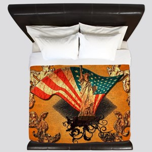 The Statue of Liberty King Duvet