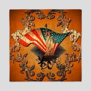 The Statue of Liberty Queen Duvet
