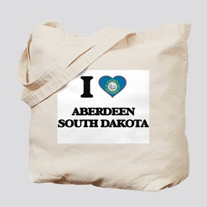 I love Aberdeen South Dakota Tote Bag