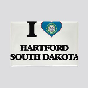 I love Hartford South Dakota Magnets