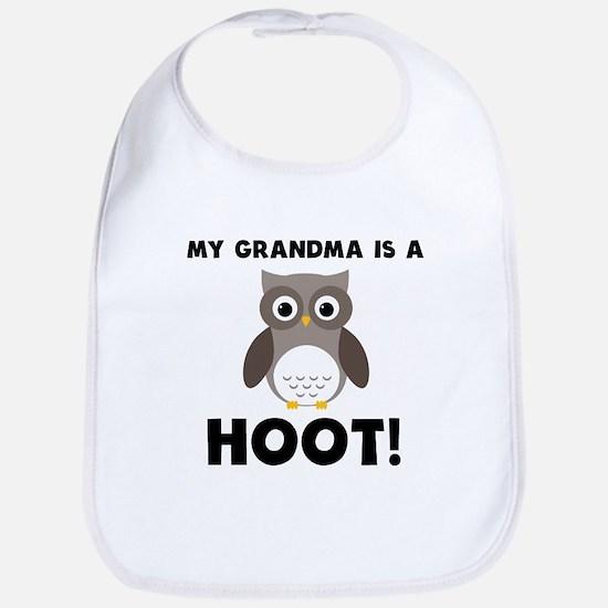 My Grandma Is A Hoot! Bib