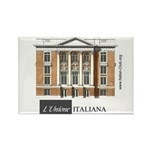 Italian Club Rectangle Magnet
