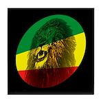 Jah Lion Tile Coaster