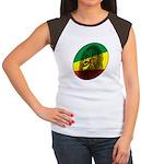 Jah Lion Women's Cap Sleeve T-Shirt