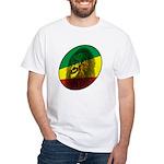 Jah Lion White T-Shirt