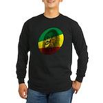 Jah Lion Long Sleeve Dark T-Shirt