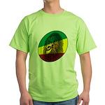 Jah Lion Green T-Shirt