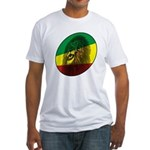 Jah Lion Fitted T-Shirt