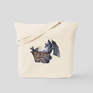 Computer Dragon Tote Bag