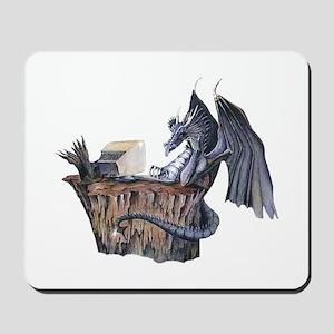 Computer Dragon Mousepad