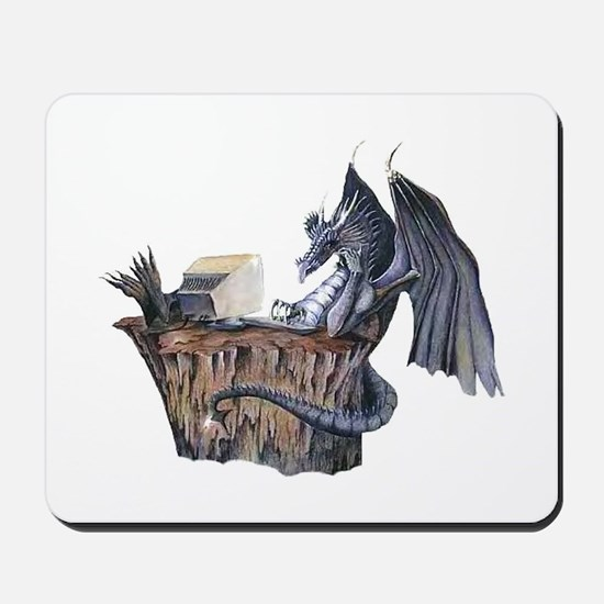 Computer Dragon Mousepad