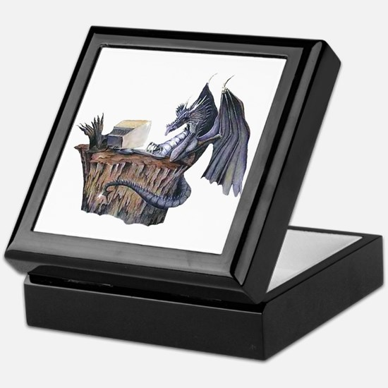Computer Dragon Keepsake Box