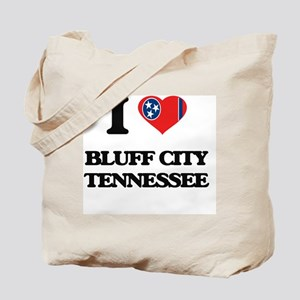 I love Bluff City Tennessee Tote Bag