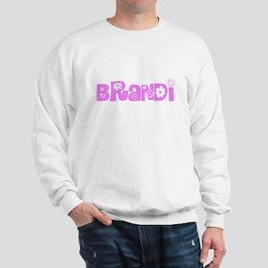 Brandi Flower Design Sweatshirt