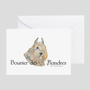 Bouvier des Flandres Wheaten Greeting Card