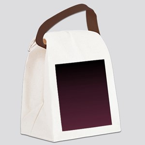 trendy burgundy ombre Canvas Lunch Bag
