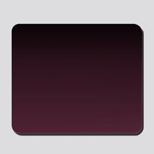 trendy burgundy ombre Mousepad