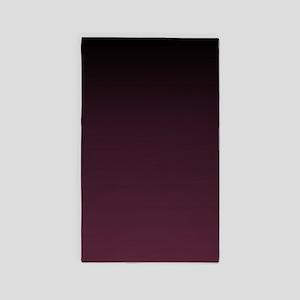 trendy burgundy ombre Area Rug