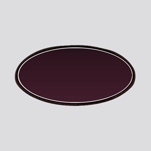 gothic burgundy ombre Patch