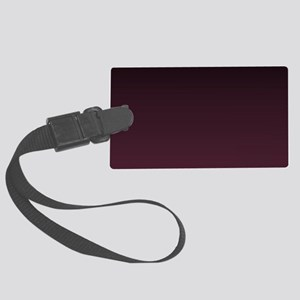 gothic burgundy ombre Large Luggage Tag