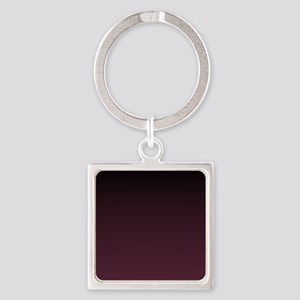 trendy burgundy ombre Keychains