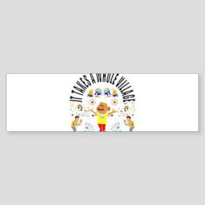Village child Bumper Sticker