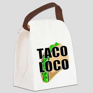 Mexican food Canvas Lunch Bag