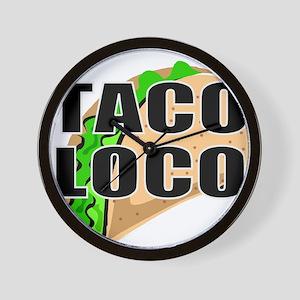 Mexican food Wall Clock