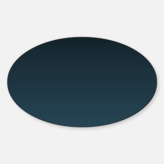 dark teal blue ombre Decal