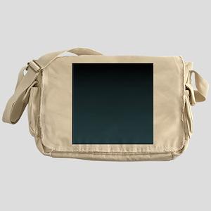 dark teal blue ombre Messenger Bag