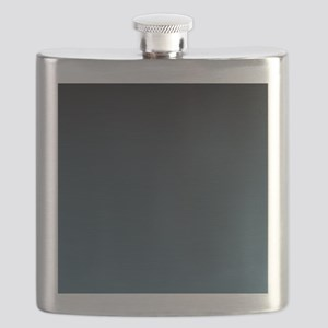 dark teal blue ombre Flask