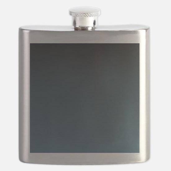 dark teal blue ombre Flask