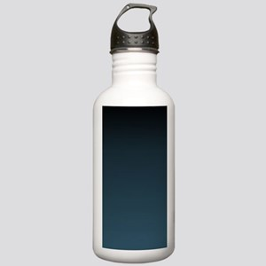 dark teal blue ombre Stainless Water Bottle 1.0L