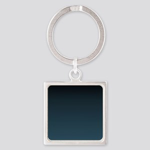 dark teal blue ombre Keychains