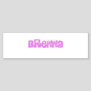 Brenna Flower Design Bumper Sticker