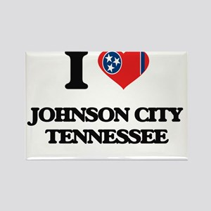 I love Johnson City Tennessee Magnets