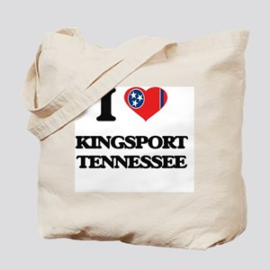 I love Kingsport Tennessee Tote Bag