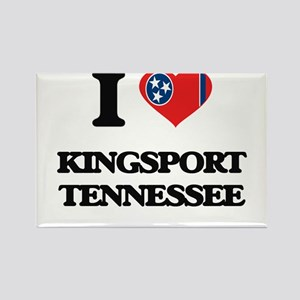 I love Kingsport Tennessee Magnets