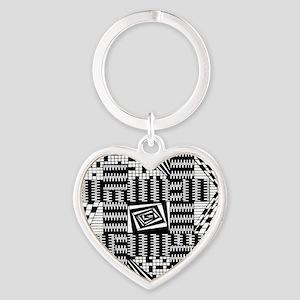 Black & White Weaving Keychains